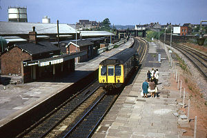Severn Beach line - Image: 121135 at Lawrence Hill