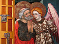 143 Esglésies de Sant Pere, retaule a la rectoria.jpg