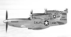 144th Fighter Group P-51Ds in 1950 (4777705758).jpg