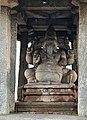 14th century Sasivekalu Ganesha Hindu Temple, Hampi Karnataka India.jpg
