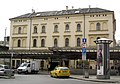 151 Masarykovo Nádraží (Estació Masaryk), façana a Na Florenci.jpg