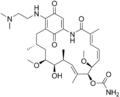 17-(dimethylaminoethylamino)-17-demethoxygeldanamycin.png
