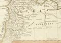 1783 Damascus map detail by JBB dAnville Asiæ quæ vulgo minor dicitur et Syriæ tabula geographica BostonPublicLibrary 14676.png