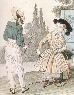 1841 fashion plate boys Petit Courier des Dames