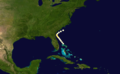 1853 Atlantic hurricane 8 track.png