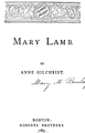 1883 MaryLamb byGilchrist RobertsBrothers tp.png