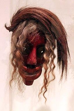 1890 Irokesische Maske anagoria