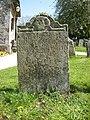18th century gravestone, Boxgrove.jpg
