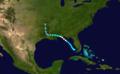 1911 Atlantic hurricane 2 track.png