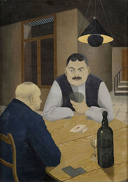 Hans Mertens, Card Players, 1929