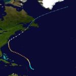 1933 Atlantika uragano 13 track.png
