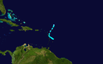 1944 Atlantic tropical storm 11 track.png