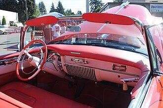 Cadillac Eldorado - 1953 Cadillac Eldorado interior