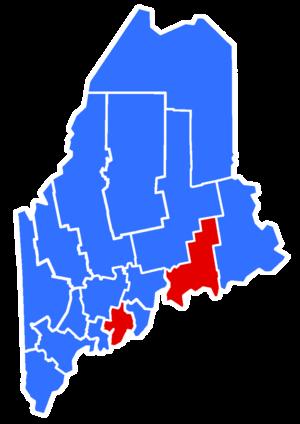 Maine gubernatorial election, 1956 - Image: 1956Maine Gubernatorial