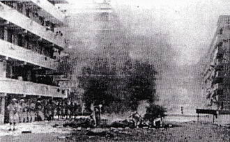 Pro-Taiwan camp (Hong Kong) - Double Ten riots of 1956 was started by the pro-Nationalist triad members.