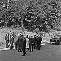 1957 Visite du ministre de l'agriculture Mr ANDRE DULIN au CNRZ-43-cliche Jean Joseph Weber.jpg