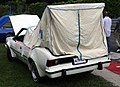 1977 AMC Hornet AMX with camping tent, rear left.jpg