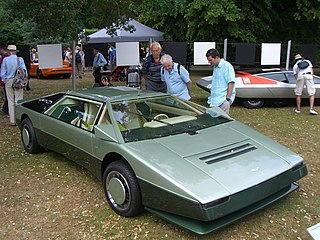 Aston Martin Bulldog car model