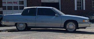 Cadillac Fleetwood - 1990 Cadillac Fleetwood coupe