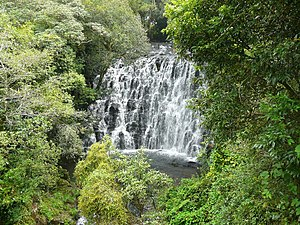 image of 1st fall of the Elephant falls, Shillong