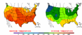 2002-09-05 Color Max-min Temperature Map NOAA.png