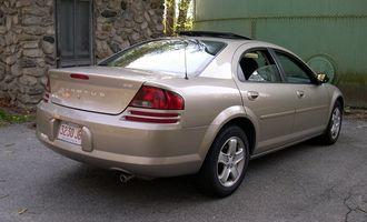Dodge Stratus - 2002 Dodge Stratus sedan