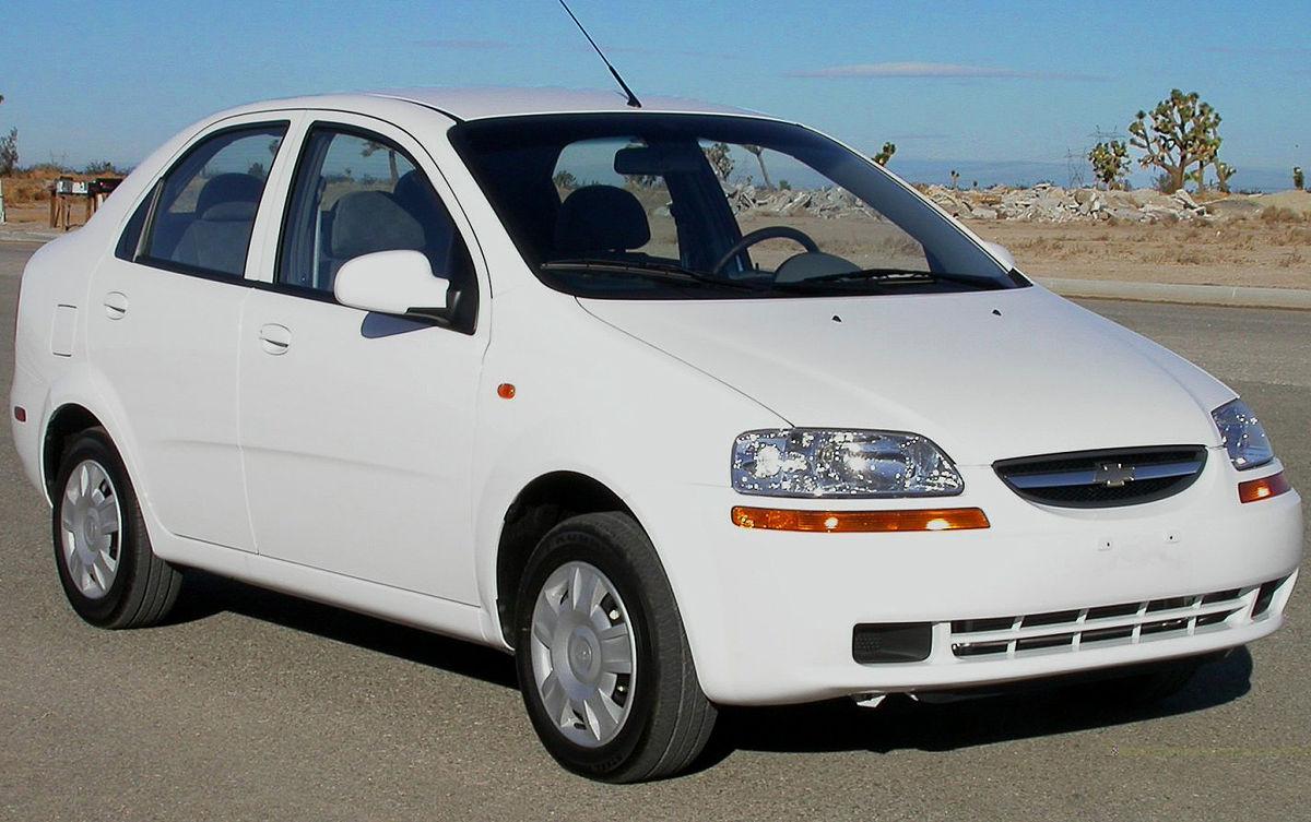 Chevrolet Aveo - Wikipedia