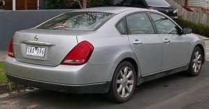 Nissan Teana - Pre-facelift Nissan Maxima Ti (Australia)