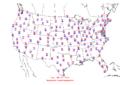2005-09-20 Max-min Temperature Map NOAA.png
