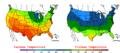 2006-05-14 Color Max-min Temperature Map NOAA.png