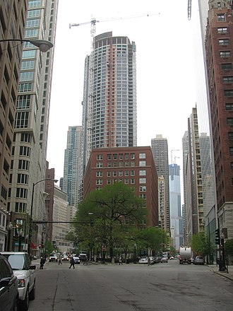 Rush Street (Chicago) - Wabash intersection (2008-05-14)