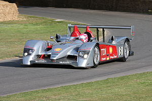 2006 24 Hours of Le Mans - The No. 8 Audi R10 TDI at Goodwood Festival of Speed