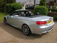 BMW E93 M3 cabriolet