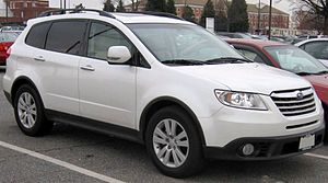 2008 Subaru Tribeca photographed in USA.
