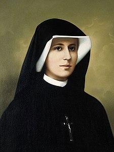 Ritratto di santa Maria Faustina