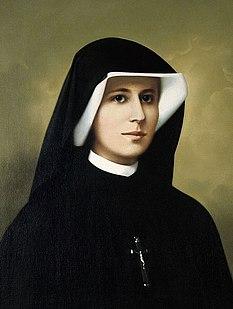 Faustina Kowalska Nun and saint from Poland