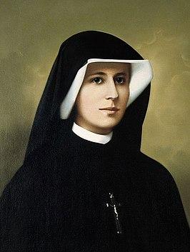 Sint Maria Faustina Kowalska van het Heilige Sacrament.