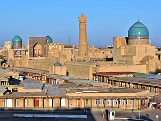 Place in Bukhara Region, Uzbekistan