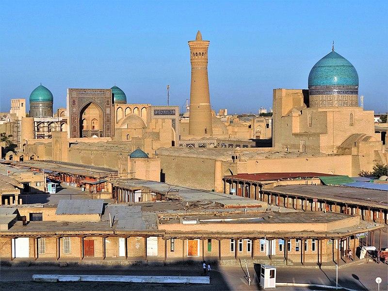 Bukhara Old Town 2012