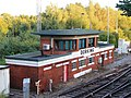 2012 at Dorking station - Signal Box.jpg
