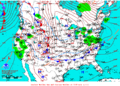 2013-01-24 Surface Weather Map NOAA.png
