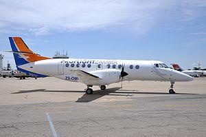 Proflight Zambia - A Proflight Zambia British Aerospace Jetstream 41, at Simon Mwansa Kapwepwe International Airport, Ndola, in 2013