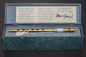 The Inner Light (Star Trek: The Next Generation) - Replica of Ressikan flute by Morgan Gendel
