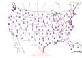 2015-02-13 Max-min Temperature Map NOAA.png