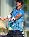2015 US Open Tennis - Qualies - Jose Hernandez-Fernandez (DOM) def. Jonathan Eysseric (FRA) (20344584054).jpg