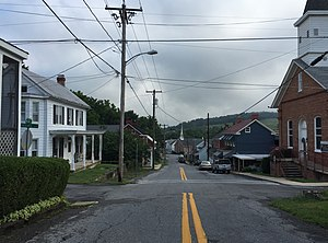Rohrersville, Maryland - Main Street in Rohrersville