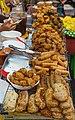 2016 Bangkok, Dystrykt Samphanthawong, Ulica Yaowarat, Uliczne jedzenie (03).jpg