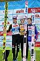2017-10-03 FIS SGP 2017 Klingenthal Siegerehrung Wellinger-Kubacki Forfang.jpg