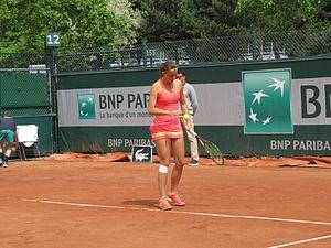 Quirine Lemoine - Image: 2017 Roland Garros Qualifying Tournament 32
