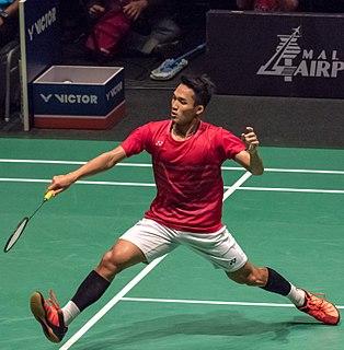 Jonatan Christie Badminton player